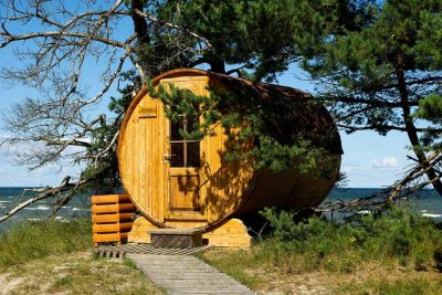 Saune da esterno: un paradiso in giardino
