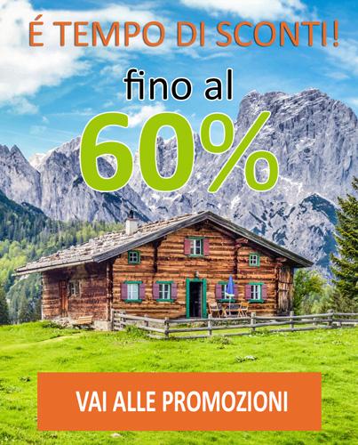 Promozioni vendita casette primavera