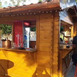 chiosco Padova in legno, ideale per bar