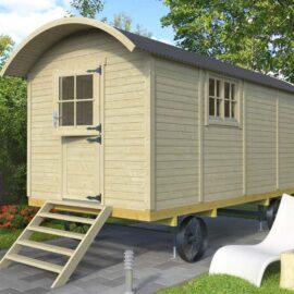 Casa mobile su ruote modello Toscana