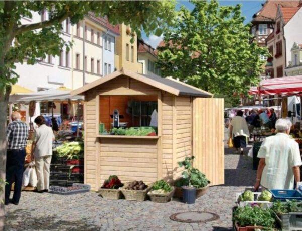Chiosco in legno modello Rimini