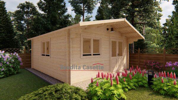 casetta in legno Milano premium 5x5