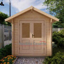 casetta in legno modello Bologna premium
