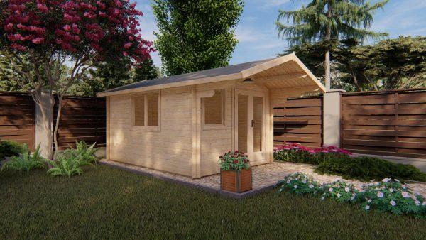 casetta in legno como premium