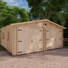 Garage 6x6 in legno premium